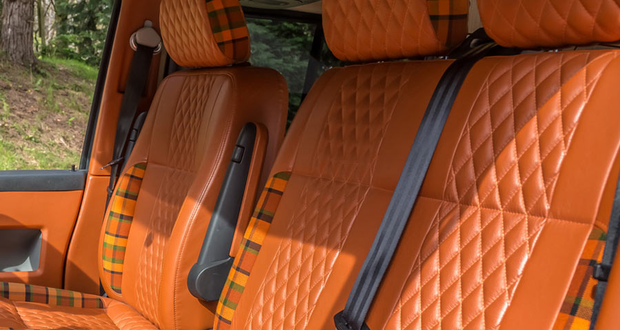 Campervan Interior Repairs - Trimming & Upholstery Services