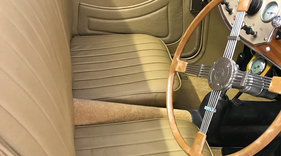Classic-Car-Interior-Upholstery-Steering-Wheels-and-Gear-Knobs