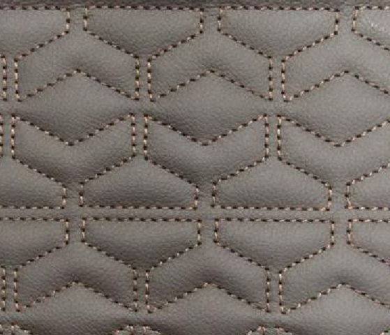 Chevron Leather Upholstery Pattern