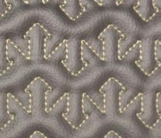 Arrow Flow Leather Upholstery Pattern