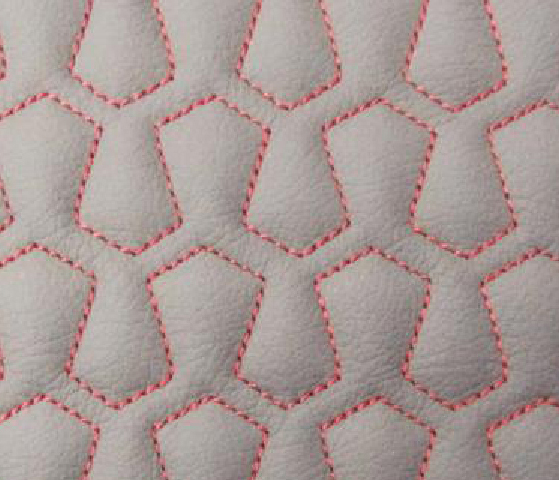 Pentagon Cell Leather Upholstery Pattern
