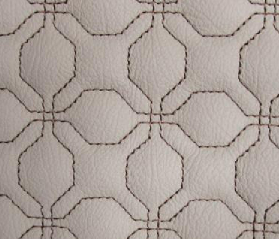 Modern Cubic Leather Upholstery Pattern