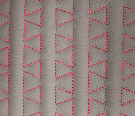 Puzzle Wave Leather Upholstery Pattern