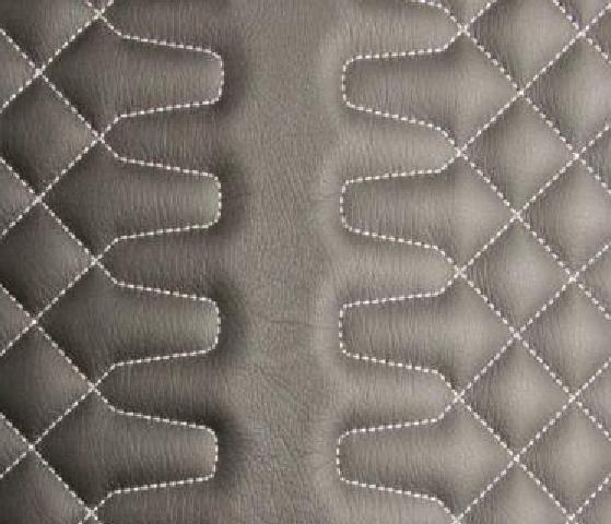 Tek Geometric Leather Upholstery Pattern