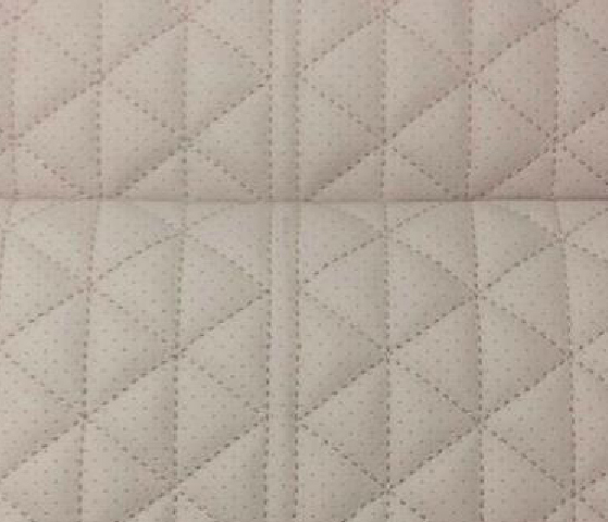 Triangle Cubic Leather Upholstery Pattern