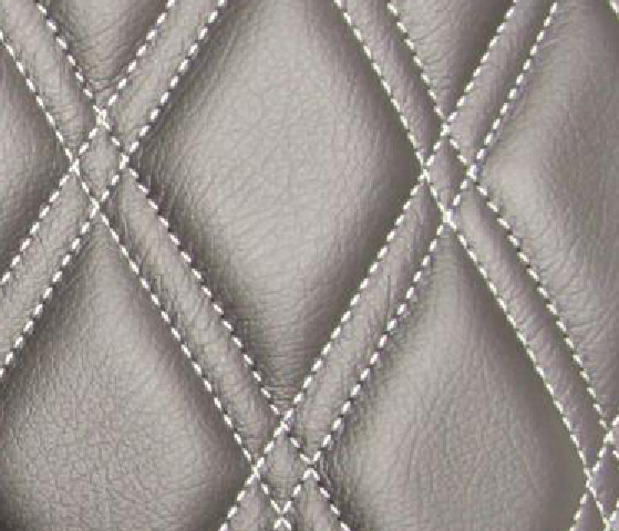 Double Diamond Leather Upholstery Pattern