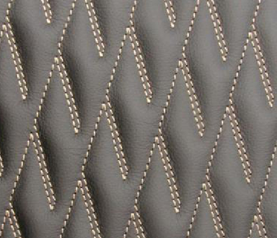 Half Diamond Leather Upholstery Pattern