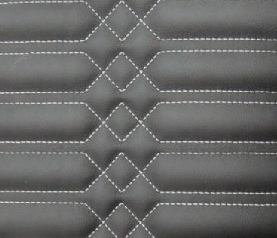 Square Strip Leather Upholstery Pattern