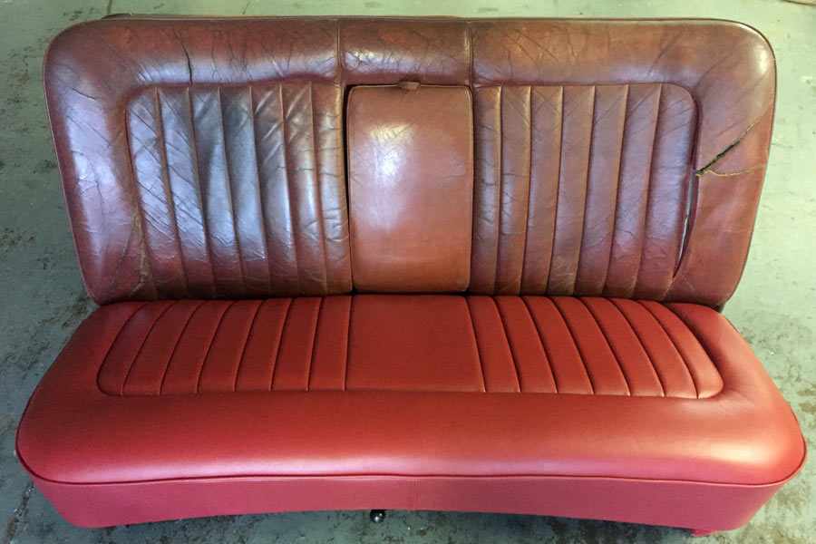Classic Car Seats Leather Re-trim