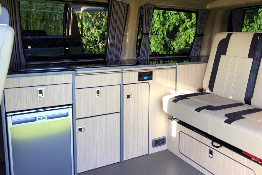 Full Luxury VW T5 Campervan Conversion