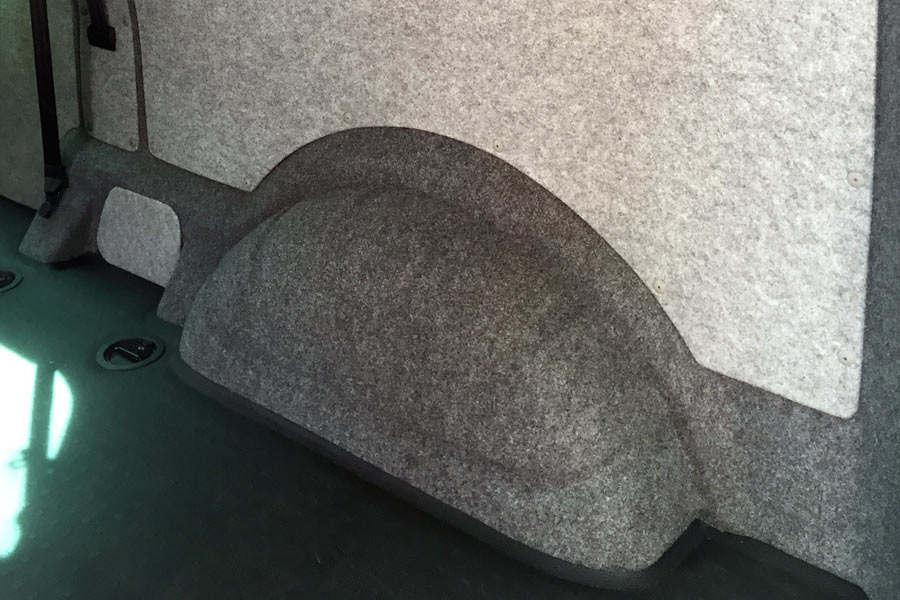 VW T5 Campervan Soundproofing